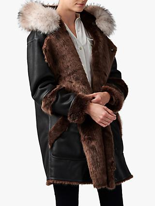 urbancode Faux Fur Reversible Parka Coat