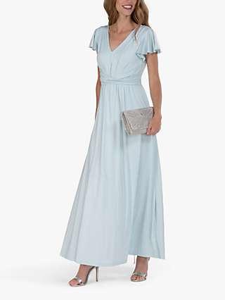 Jolie Moi Twist Waist Maxi Dress