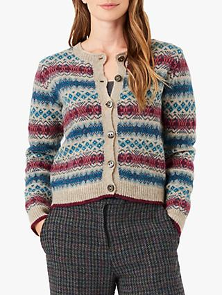 Brora Wool Fairisle Cardigan