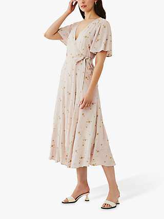 Ghost Mabel Star Embroidered Maxi Dress, Starry Surprise