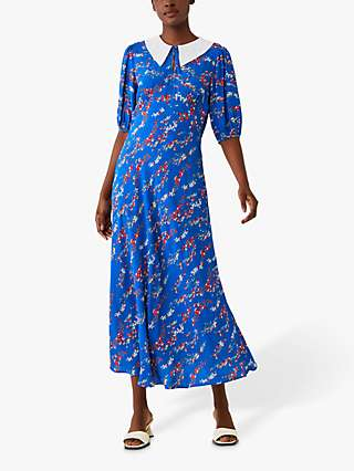 Ghost Lola Floral Maxi Dress, Flow Flower Field
