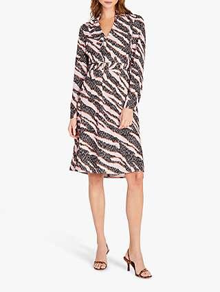 Damsel in a Dress Averie Zebra Knee Length Dress, Multi