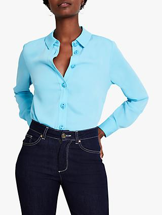 Damsel in a Dress Asha Shirt, Aqua