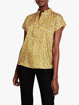 Damsel in a Dress Aimee Leopard Shirt, Multi