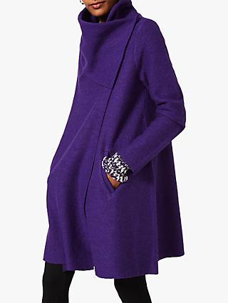 Phase Eight Bellona Wool Blend Knit Coat