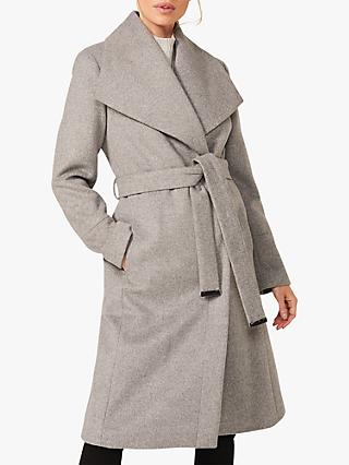 Phase Eight Nicci Belted Wool Blend Coat