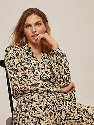 Somerset by Alice Temperley Dot Animal Blouse, Neutral