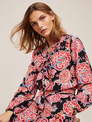 Somerset by Alice Temperley Chintz Floral Blouse, Pink