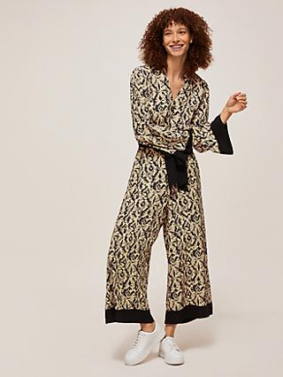 Somerset by Alice Temperley Dotted Animal Jumpsuit, Neutral