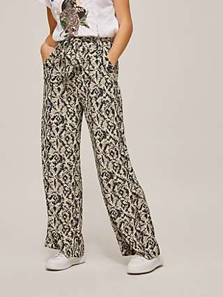 Somerset by Alice Temperley Dot Animal Trousers, Neutral