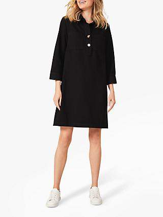 Phase Eight Kirsty Denim Dress, Black