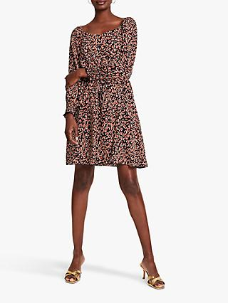 Damsel in a Dress Tabi Leopard Mini Dress, Multi