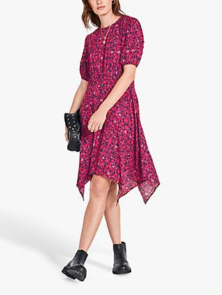 hush Josiane Floral Dress, Pink