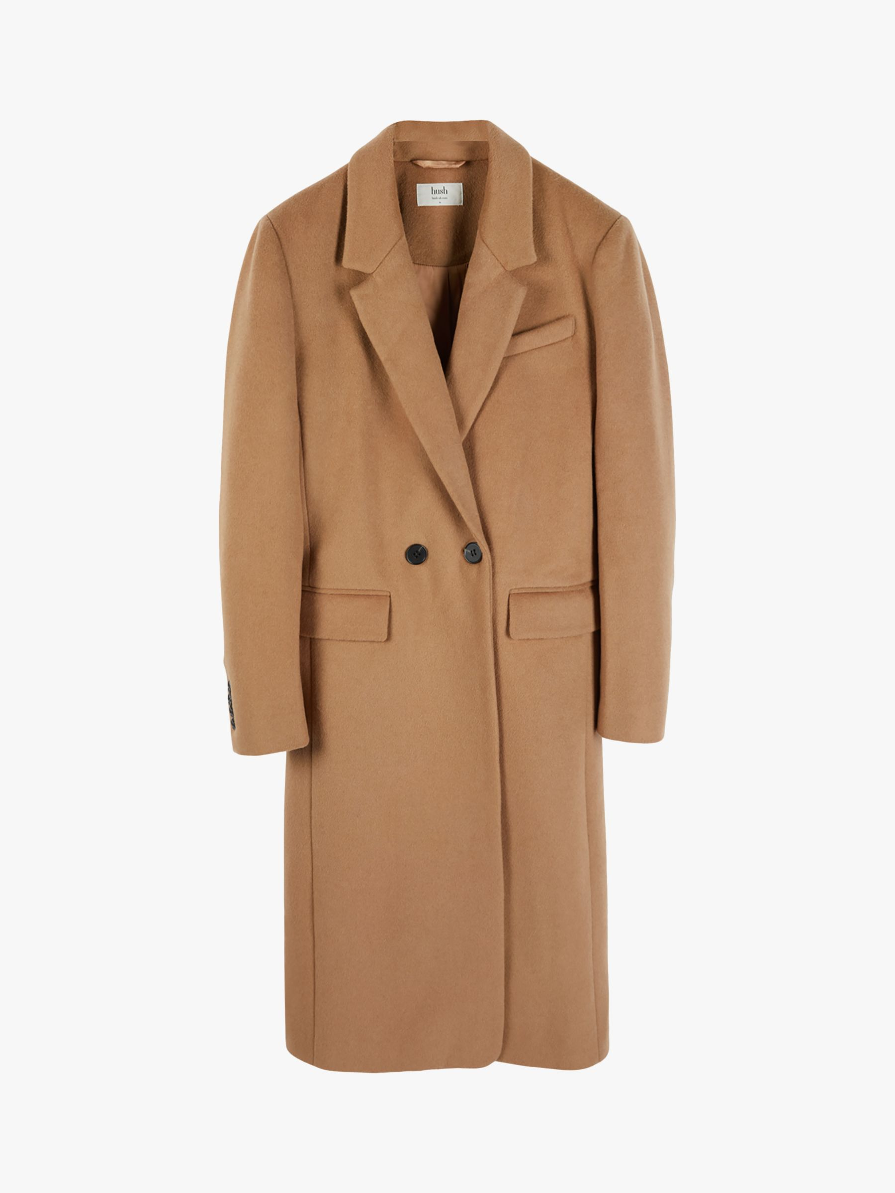 hush Perfect Crombie Jacket, Tan, 6