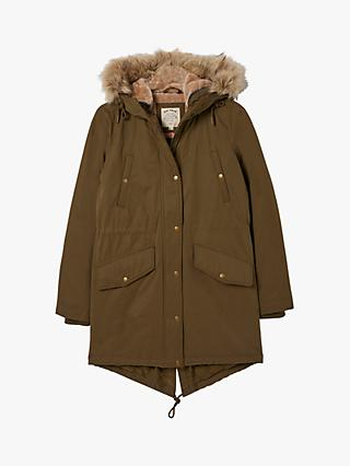 FatFace Judy Faux Fur Trimmed Hooded Parka