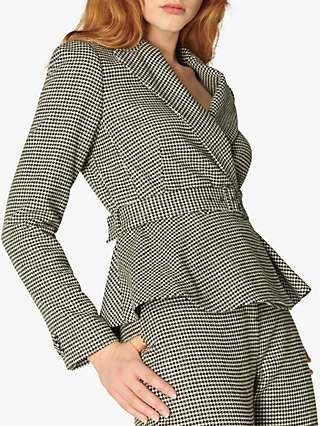 L.K.Bennett Nina Tailored Jacket, Black/Cream