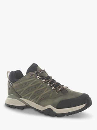 The North Face Hedgehog Hike II Men's Waterproof Gore-Tex Hiking Shoes, Tarman Green/TNF Black
