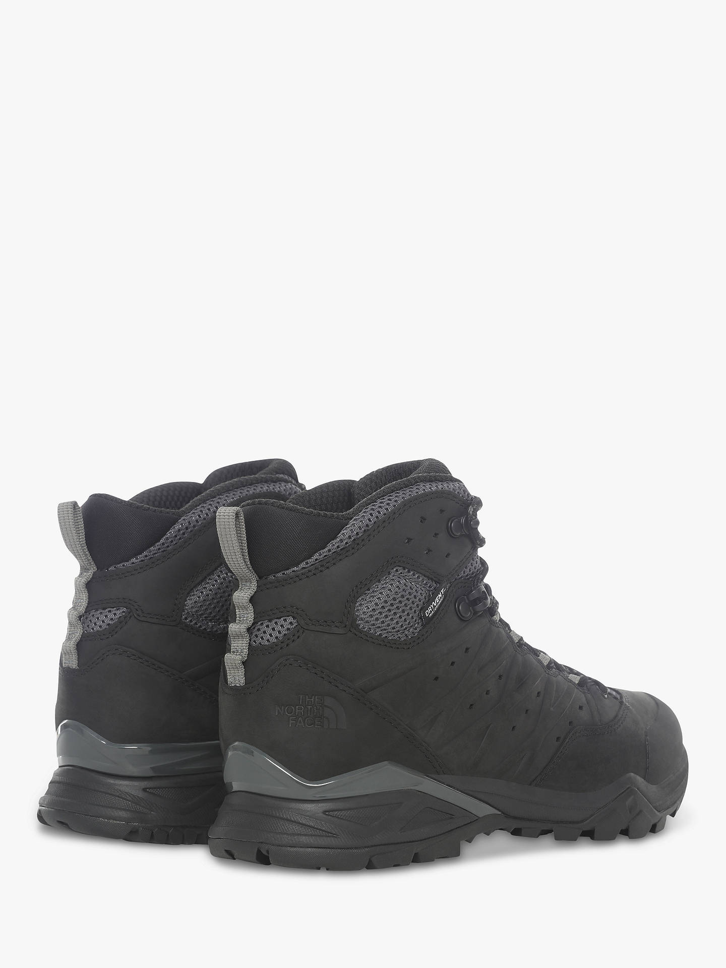 Buy The North Face Hedgehog Hike II Mid Men's Waterproof Gore-Tex Hiking Shoes, TNF Black/Graphite Grey, 8 Online at johnlewis.com