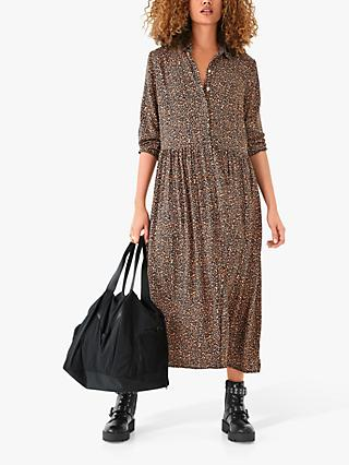 hush Lianne Midi Shirt Dress, Multi