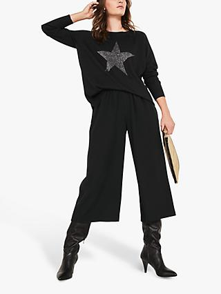 hush Stella Star Jumper, Black