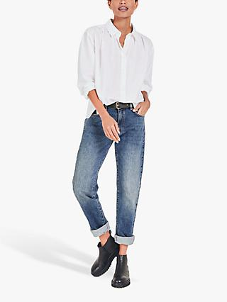 hush Letitia Shirt, White