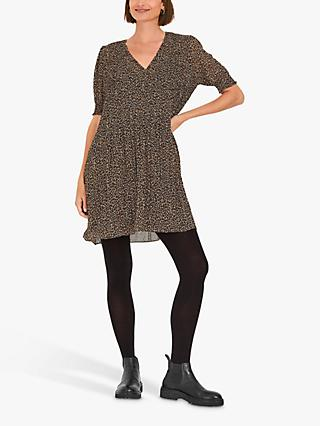 hush Pepa Leopard Mini Dress, Multi