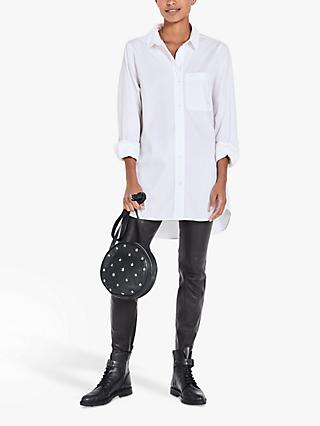 hush Oversized Shirt, White