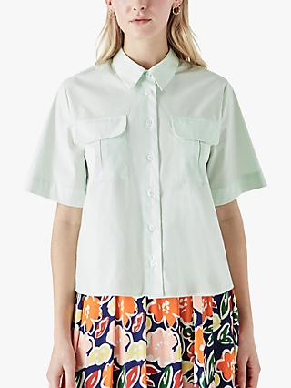 Finery Elena Patch Pocket Shirt