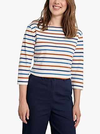Seasalt Sailor Stripe Organic Cotton Top