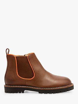 Mini Boden Leather Chelsea Boots