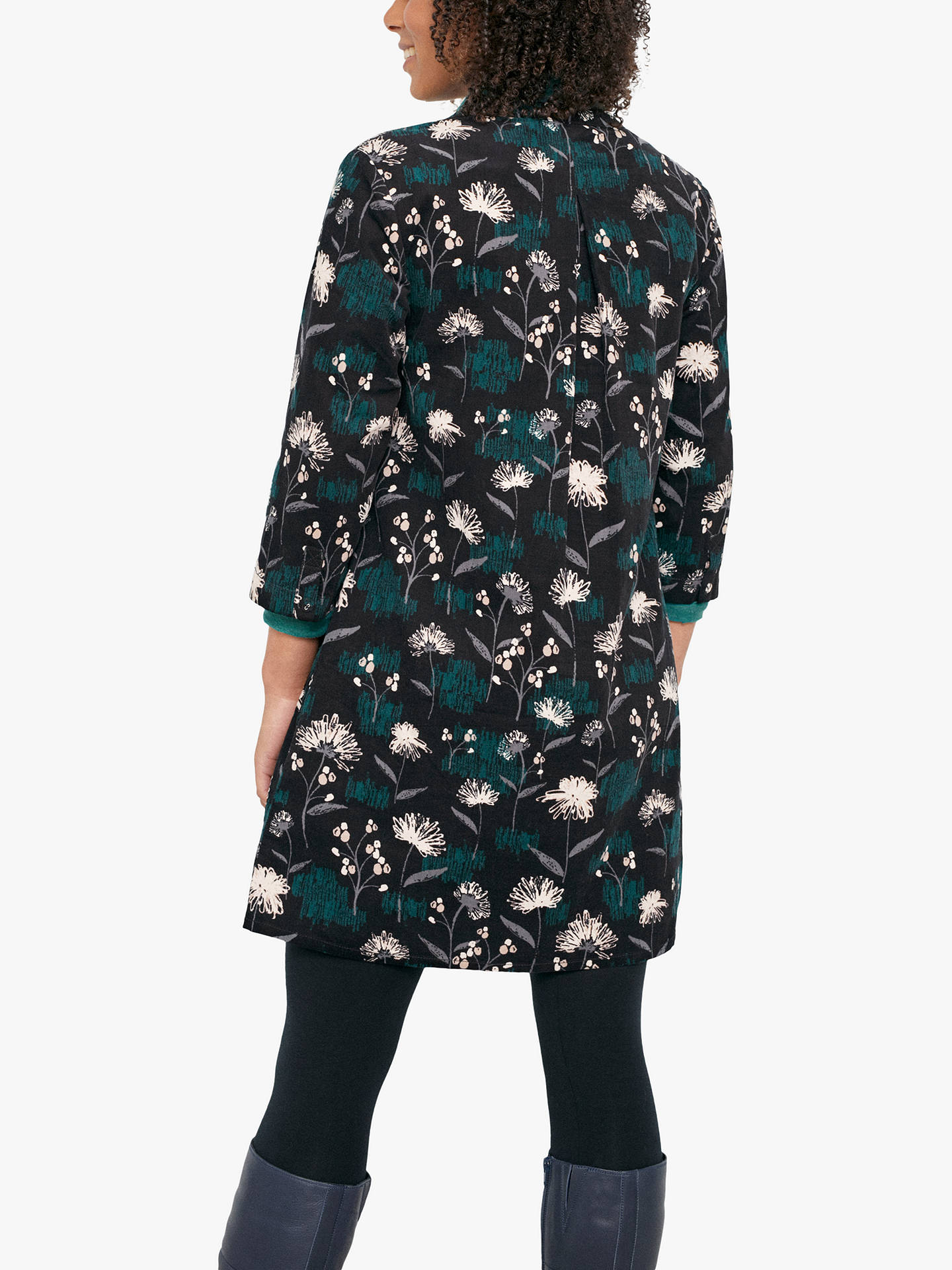 Buy Seasalt South Terrace Tunic Top, Black, 10 Online at johnlewis.com