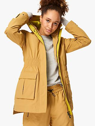 Sweaty Betty Snowdonia Jacket, Camel Brown