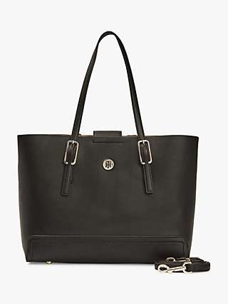 Tommy Hilfiger Honey Medium Tote Bag, Black