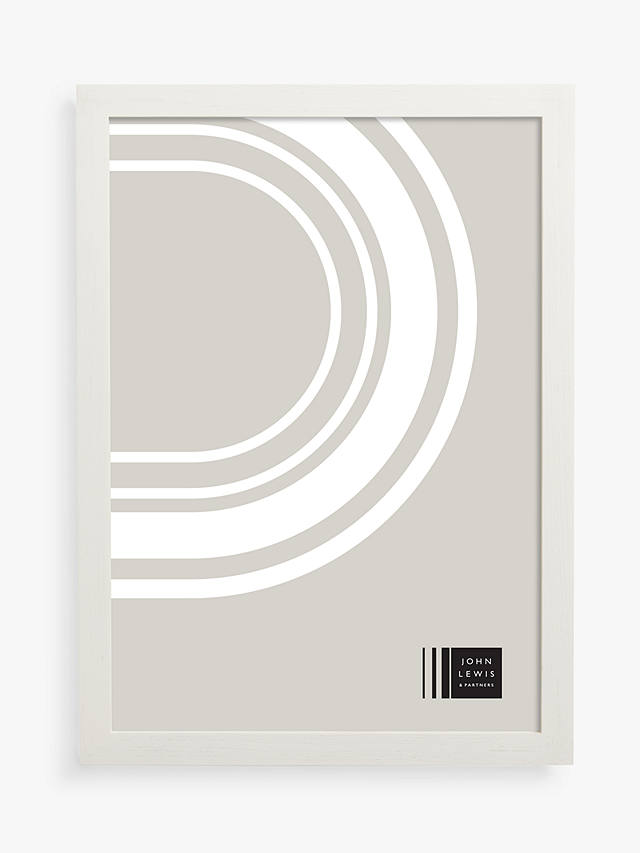 Buy John Lewis & Partners Grove Ash Wood Poster Frame, White, A4 (21 x 30cm) Online at johnlewis.com