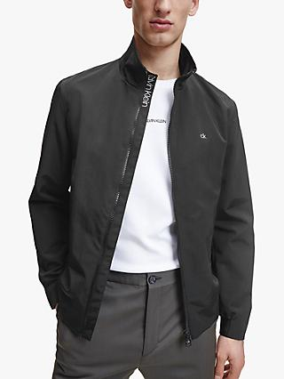 Calvin Klein Casual Recycled Nylon Jacket, CK Black