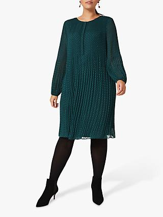 Studio 8 Florrie Embellished Swing Dress, Pine