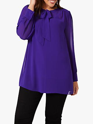 Studio 8 Cassie Neck Blouse, Purple