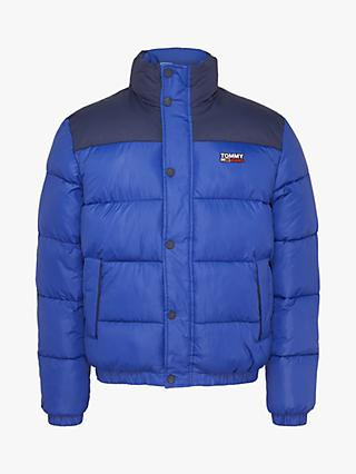Tommy Jeans Corp Puffer Jacket, Providence Blue/Multi