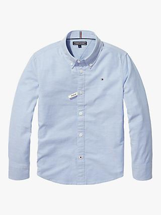 Tommy Hilfiger Boys' Organic Cotton Blend Stretch Oxford Shirt
