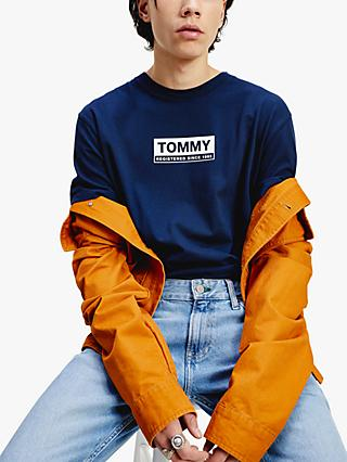 Tommy Jeans Crew Neck Box Logo T-Shirt