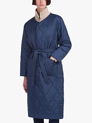Barbour by ALEXACHUNG Martha Quilted Jacket, Dress Blue