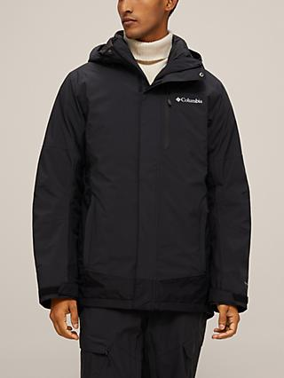 Columbia Lhotse™ III Interchange Men's Waterproof Jacket, Black
