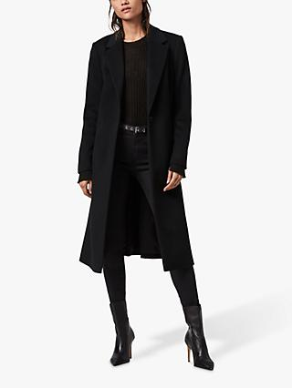 AllSaints Wade Coat, Black