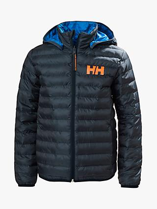 Helly Hansen Boys' Junior Infinity Insulator Jacket, Navy