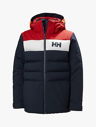 Helly Hansen Boys' Junior Cyclone Ski Jacket, Navy