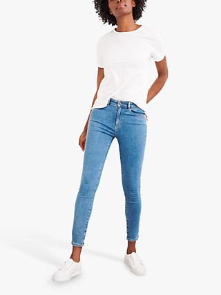 White Stuff Skinny Jeans, Light Denim