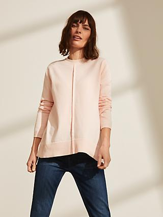John Lewis & Partners Curved Hem Sweater