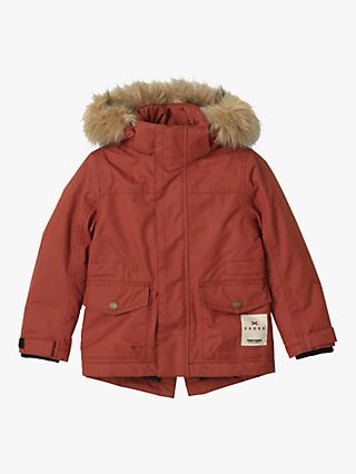 Treton Children's Sarek Parka Coat, Red