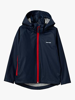 Tretorn Children's Packable Rain Set, Navy