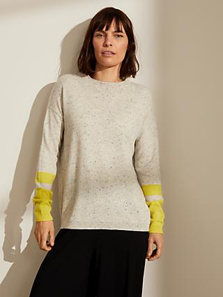 John Lewis & Partners Relaxed Cashmere Crew Neck Sweater